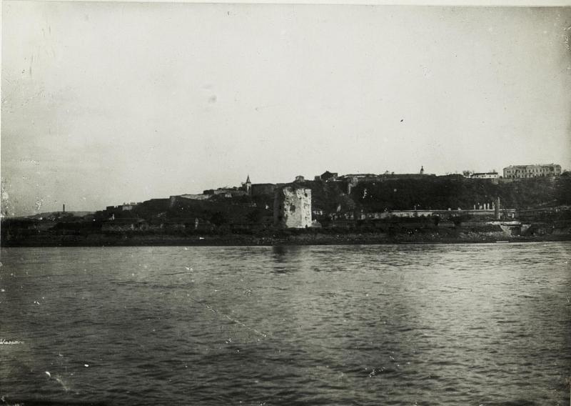 "Festung Belgrad mit ""Nebojse"" Turm."