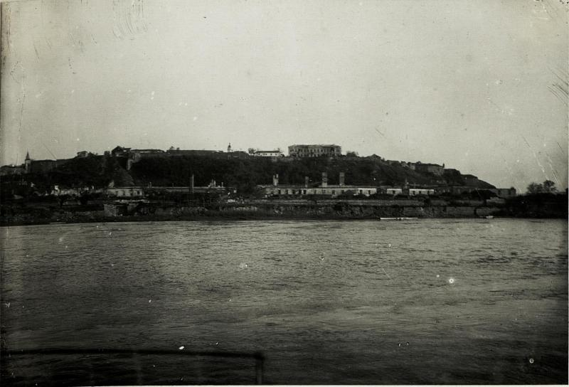 Festung Belgrad mit dem Offizierskasino.