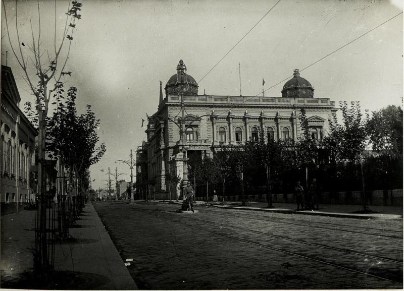 Der Konak von Belgrad am Tag der Einnahme.