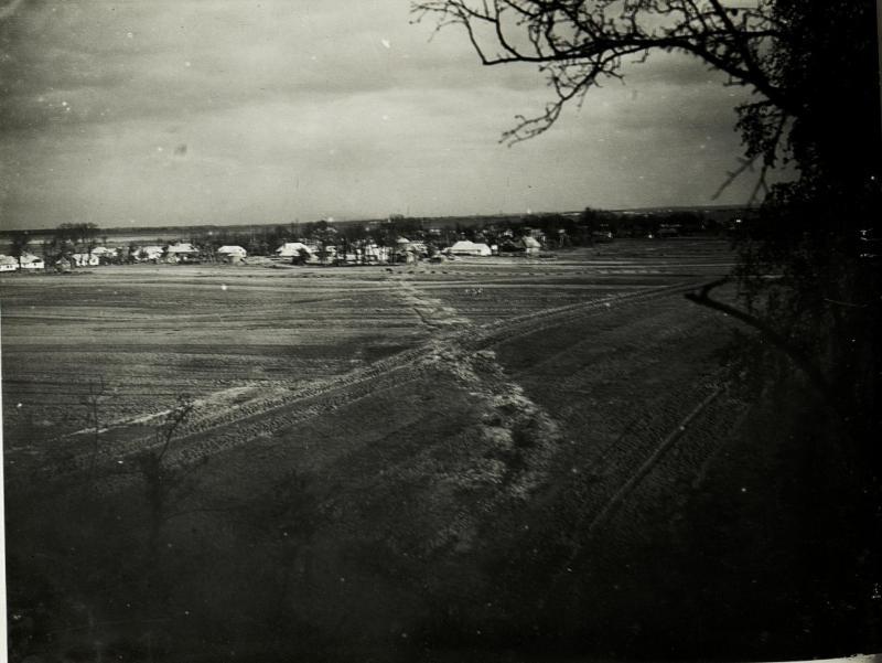Angriffsterrain bei Gaje Wyznè.