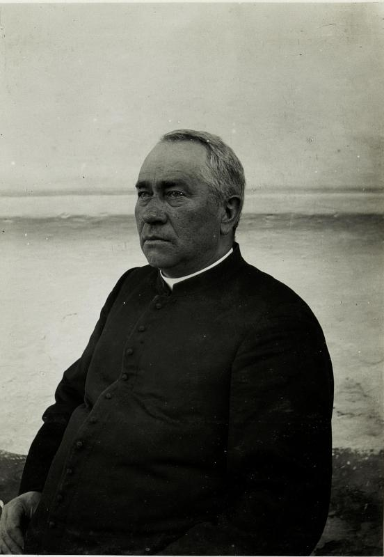 Der Pfarrer Nowe Rybie.