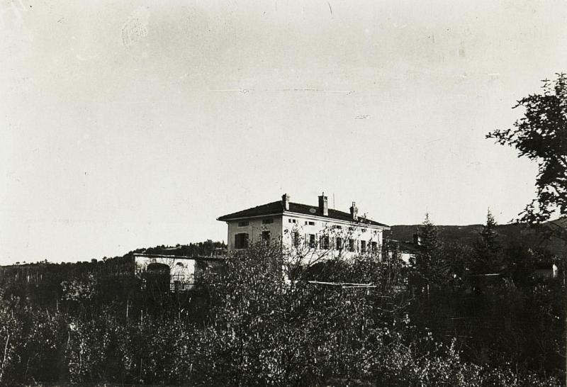 Abteilungs - Kanzleien und Arbeitsräume in Zalosce, 20.4.1916.