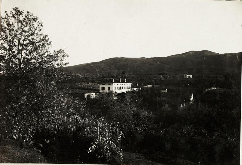 Abteilungsgebäude in Zalosce nächst Dornberg 10.1.1915.