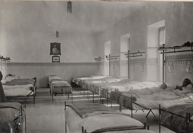 Feldspital in Wippach.21.8.17.