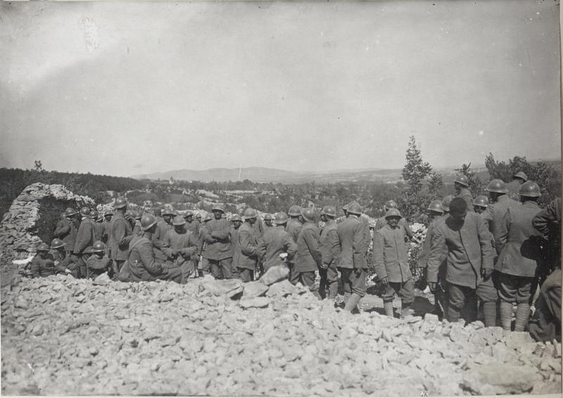 Gef.Italiener a.d.XI.Isonzoschlacht. 4.9.17.