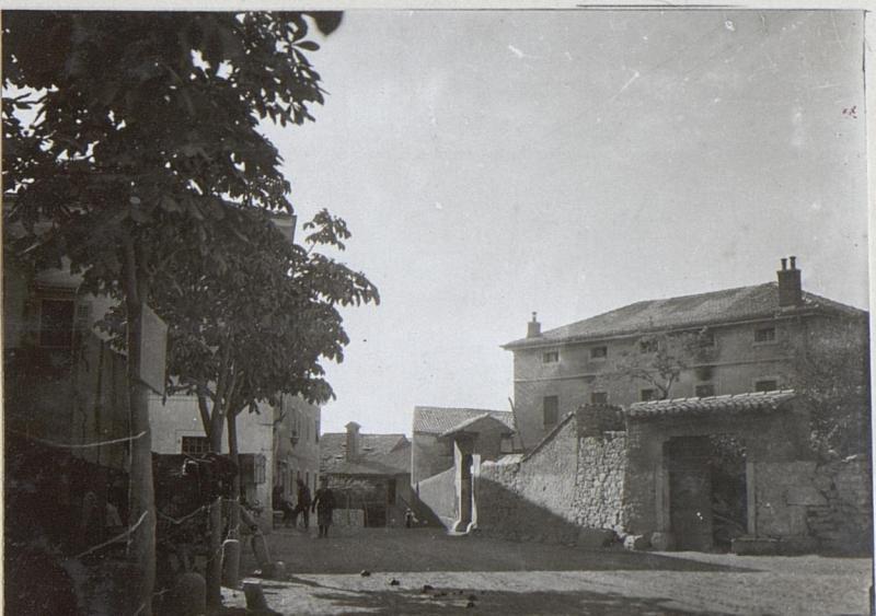 Feldspital am Karst.Juni 1917.