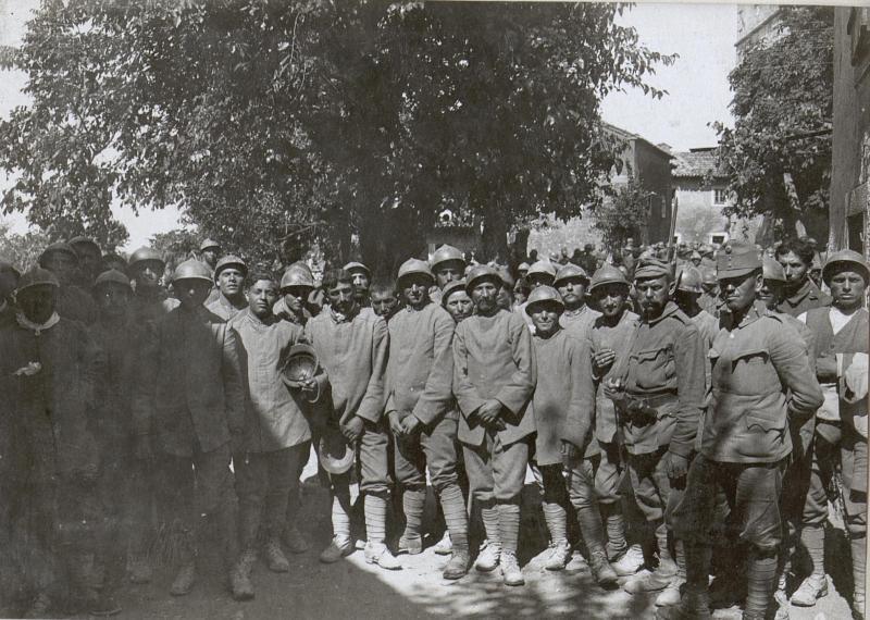 Gef.Italiener a.d.XI.Isonzoschlacht.1.9.17.