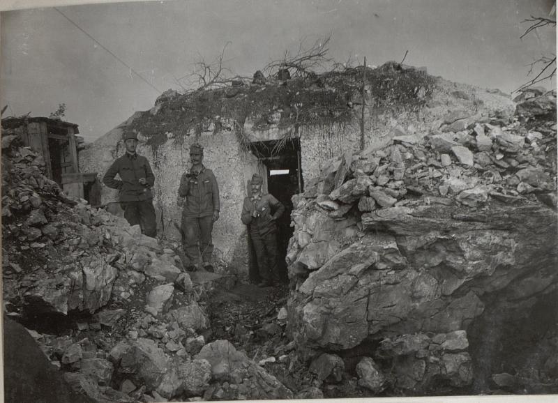 Art. Beobachterstand a.d.Isonzofront