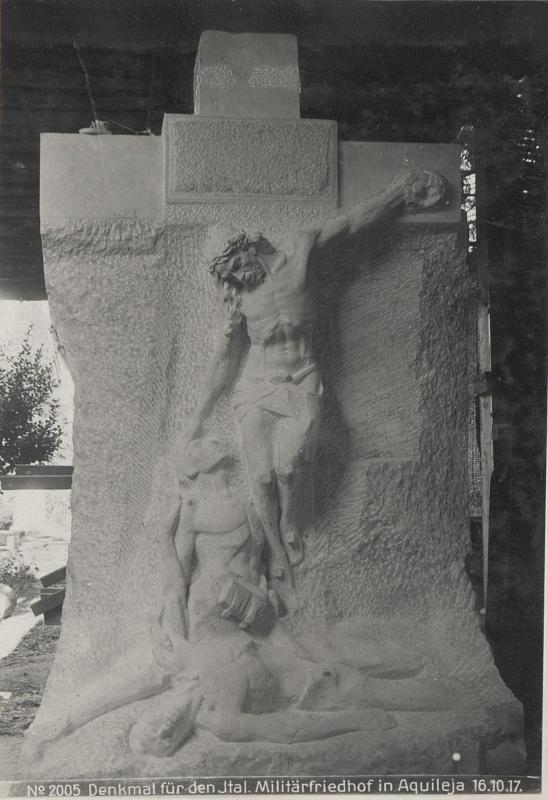 Denkmal für den Ital.Militärfriedhof in Aquileja 16.10.17.