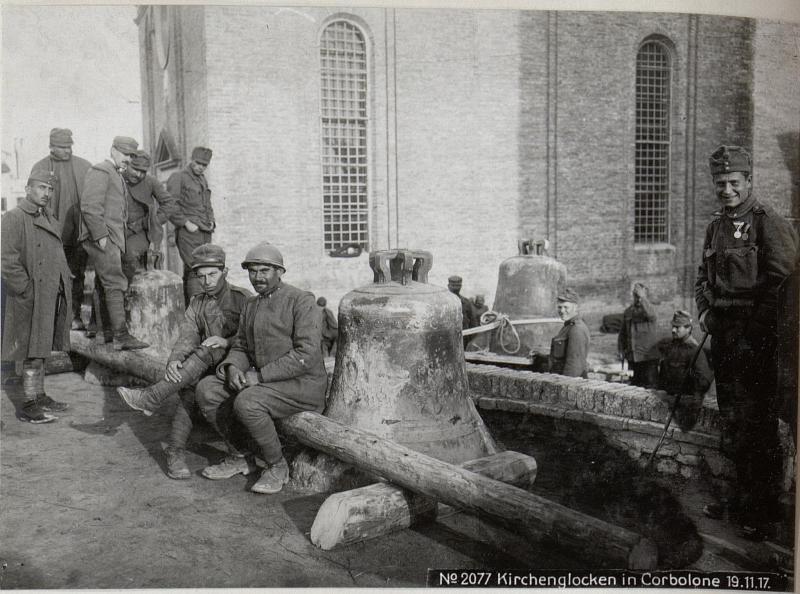 Kirchenglocken in Corbolone 19.11.17.