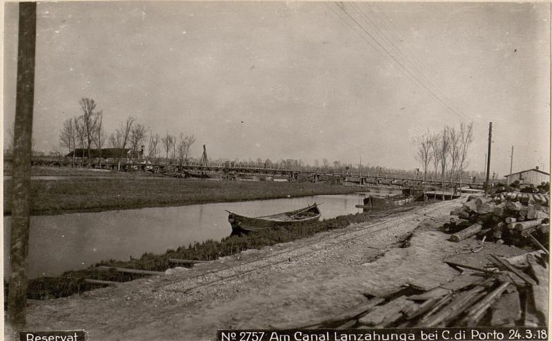 Am Canal Lanzahunga bei C.di Porto 24.3.18.