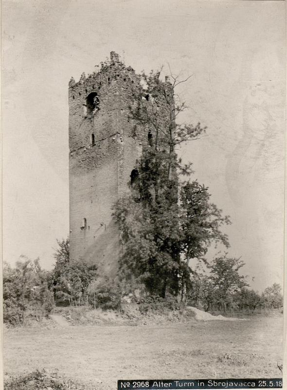 Alter Turm in Sbrojavacca 25.5.18.