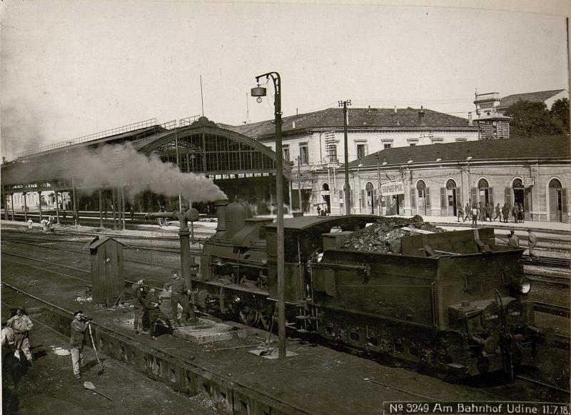 Am Bahnhof Udine 11.7.18.