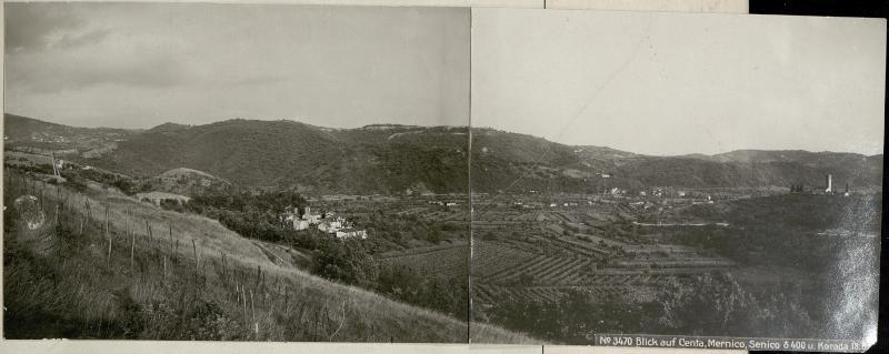 Blick auf Centa, Mernico, Senico ¤ 400 u. Korada