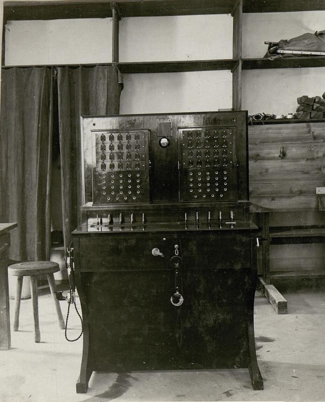 Fernsprechumschalter für die Zentrale Lafraun in Trient
