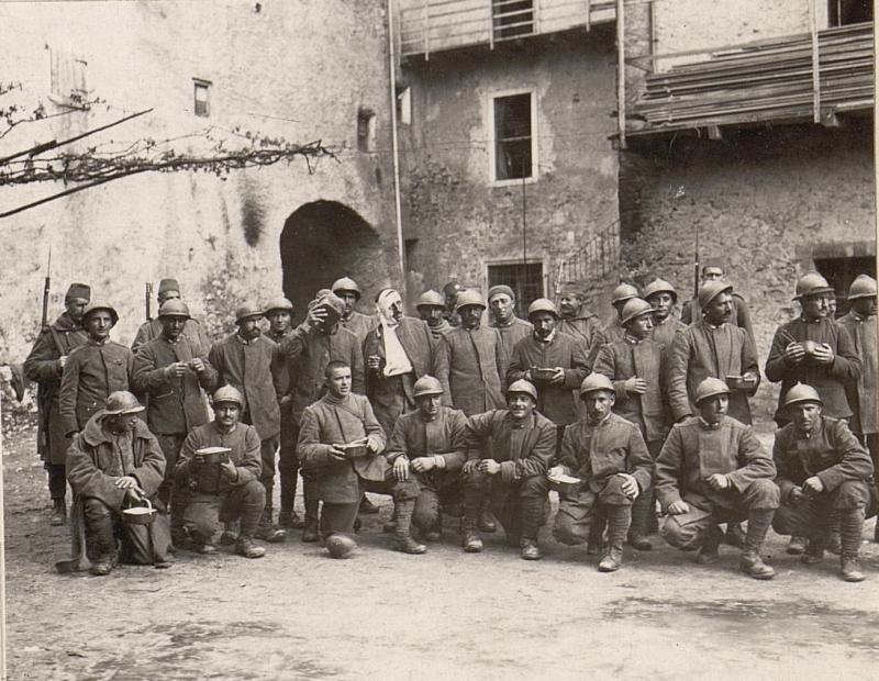 Italienische Gefangene Trient