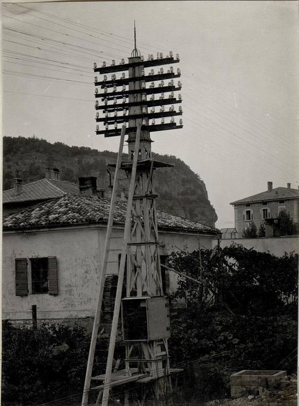 Telephon-  und Telegraphenzentrale in Trient