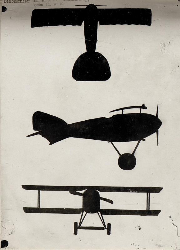 Flugzeug Silhouetten