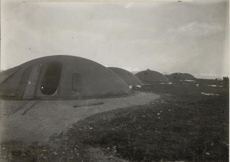 Cima di Campo. Die Panzerkuppe vom Werk Leone.