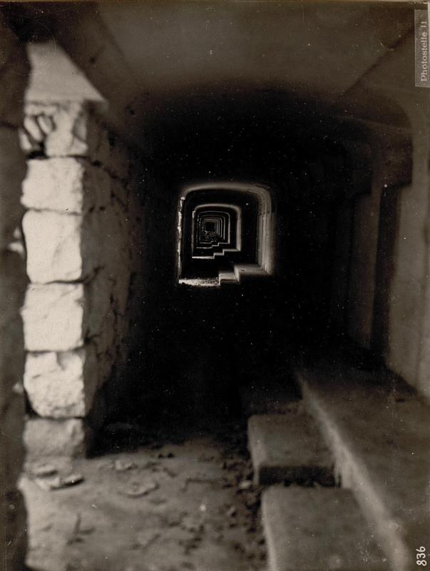 Bei Grigno.Betonierte Hauptstelle der Italiener. 6/XII.1917.
