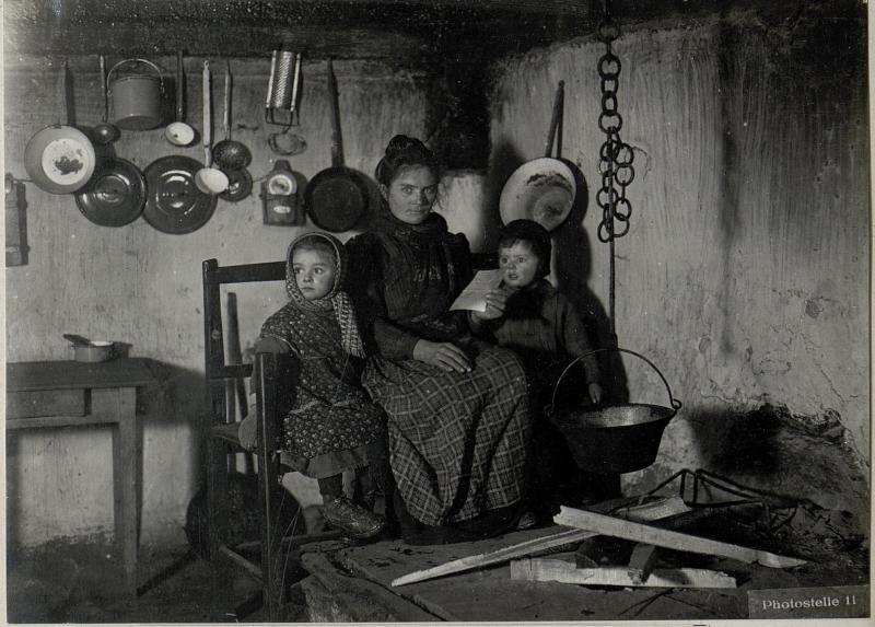 Calzeranica. .Italienische Familie. Jänner. 1918.