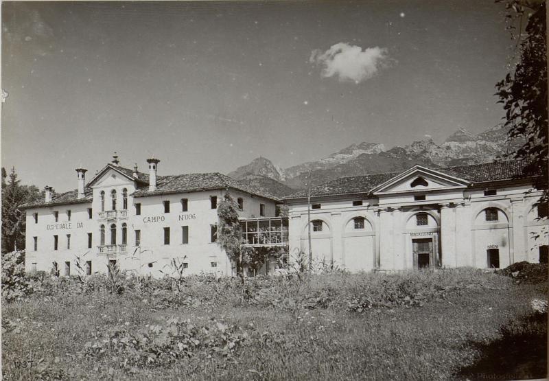Grun .Italienisches Zivilspital.