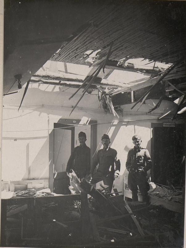 Feltre.Kriegsspital (Krankensaal.)