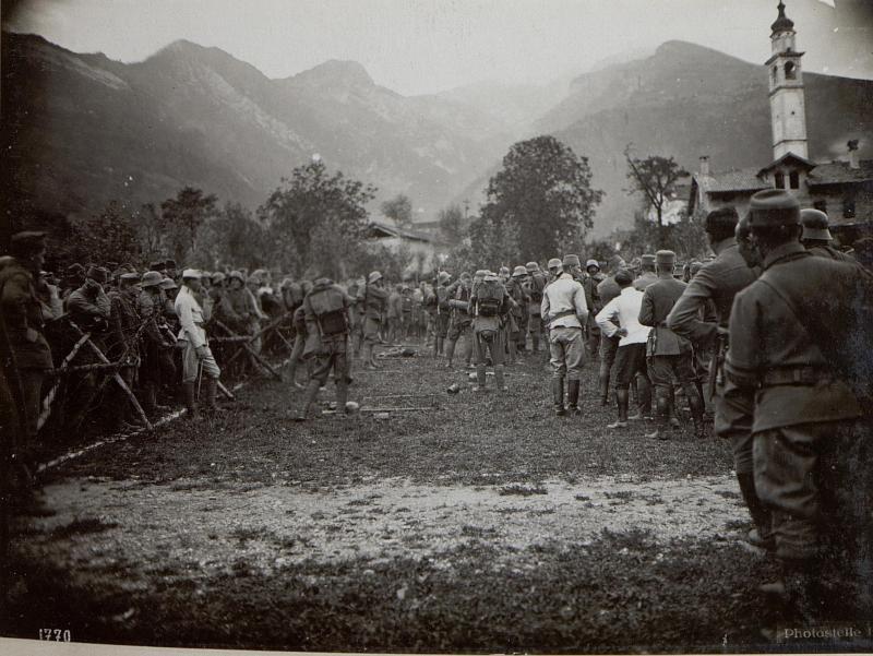 Cesio Maggiore. Soldatenfest.