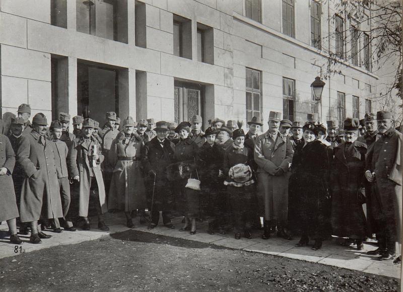 Fronttheater beim 3.Armeekommando