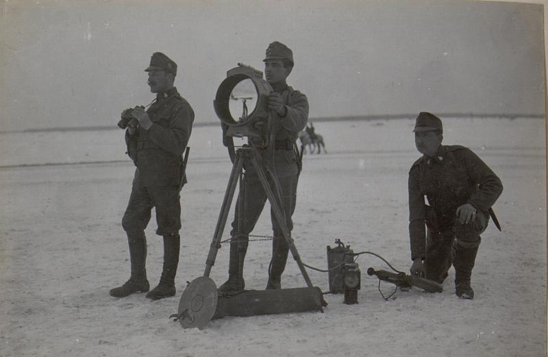 Sturmkurs.30 cm Scheinwerfer.