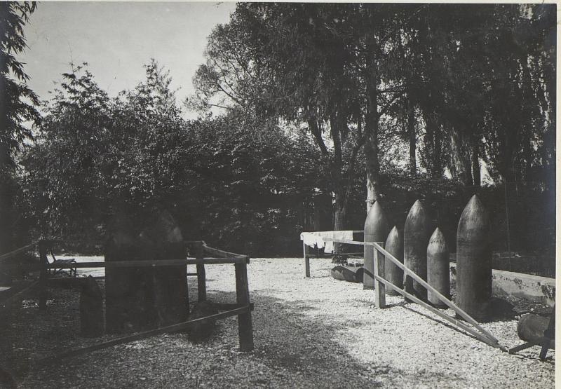 Blindgänger.Cervignano. (Mitte Mai 1918.)