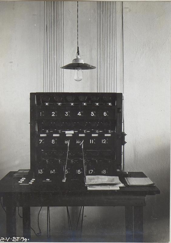 Telephonapparat ohne Telephonist des k.u.k.26.Korps 28.11.17.
