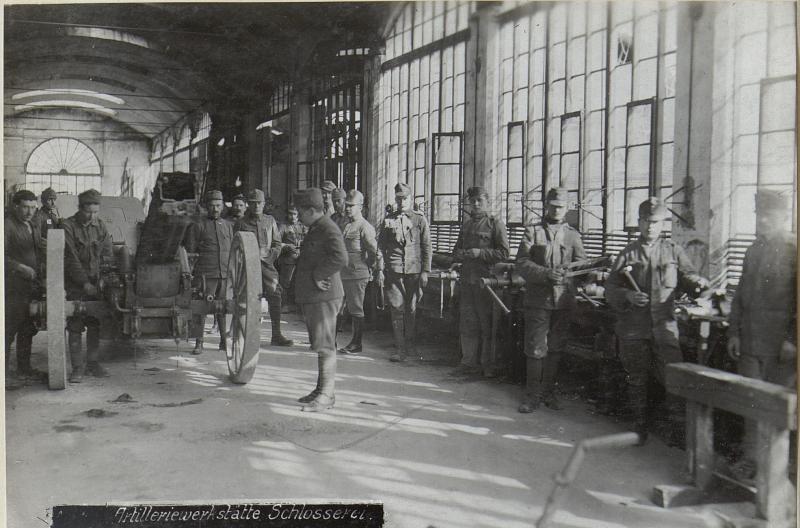 Artilleriewerkstätte, Schlosserei.