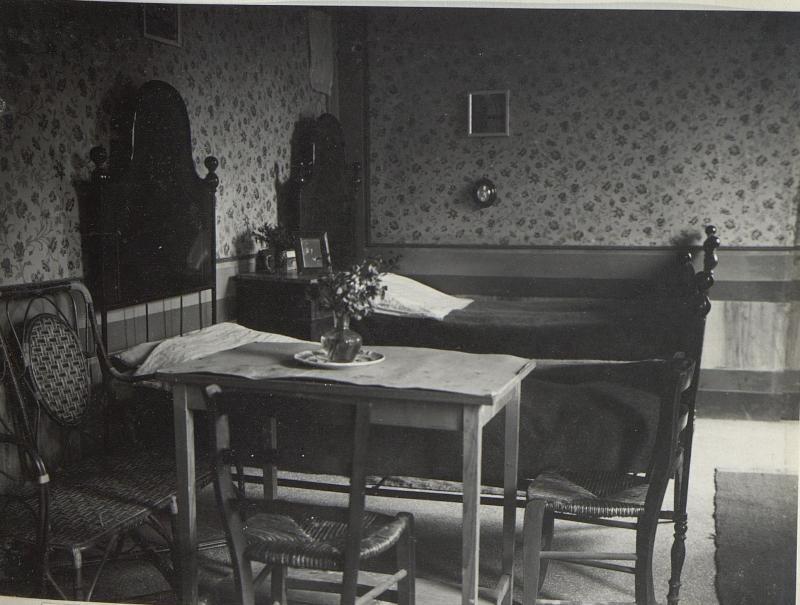 Schlafzimmer der weibl. Hilfskräfte, Vittorio.