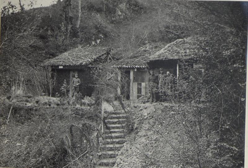 Blockhaus des Komp. Komdos Techn. Komp.J.H.6.