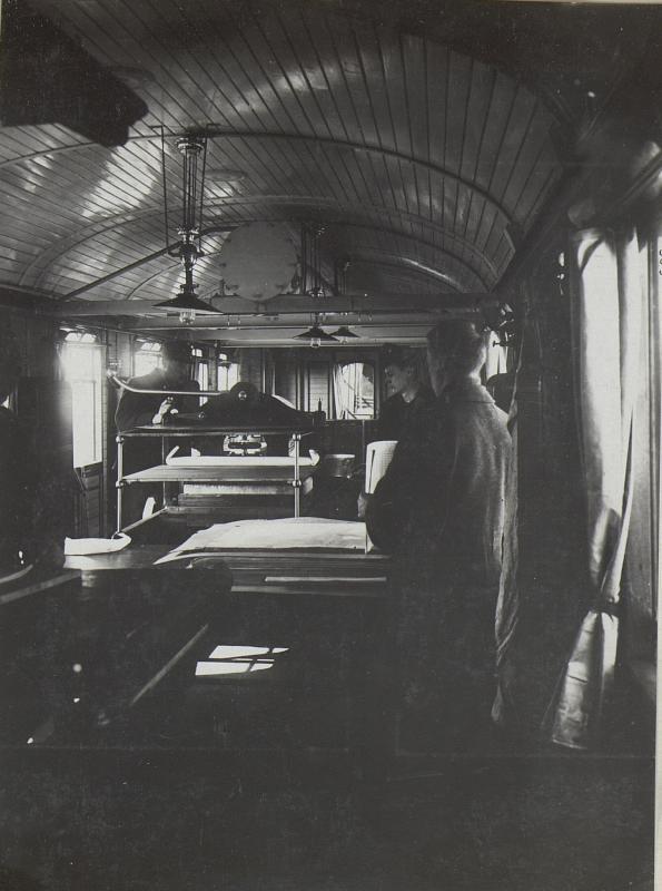 Arbeitswagen der Druckerei.