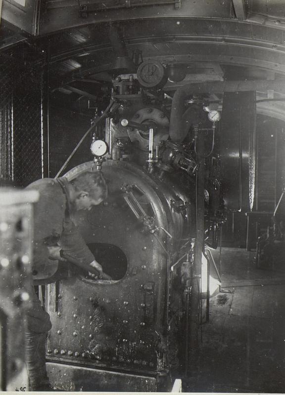 Betriebswagen der Druckerei.