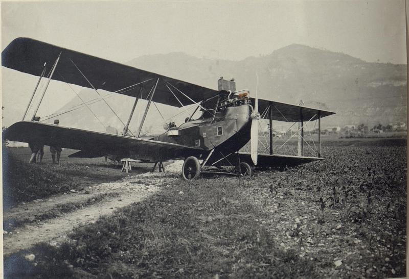 Cellerada, abgestürtztes österreichisches Flugzeug.