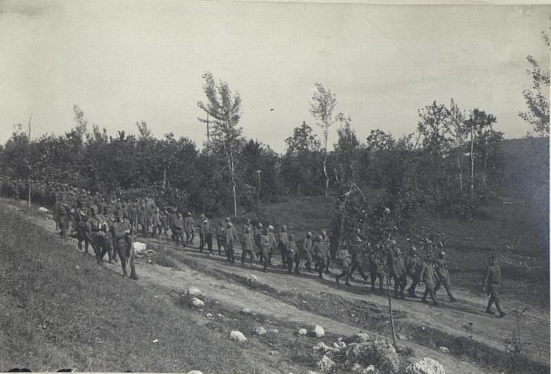 St.Salvadore, Abtransport von Kriegsgefangenen.