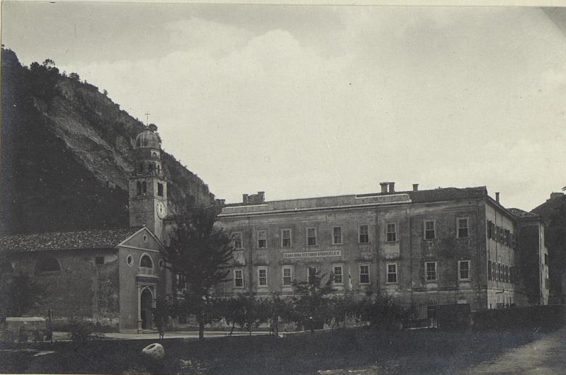 Feldspital 1506 in Seravallo, Gesamtansicht.
