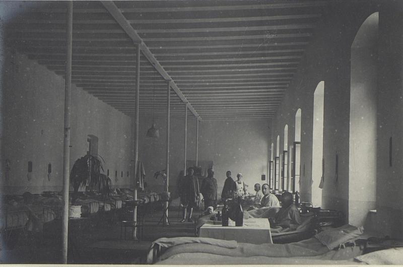 Interne Zimmer des Feldspitales 1506.