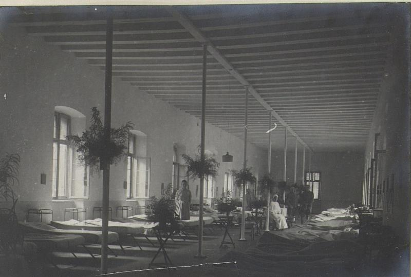 Malariazimmer des Feldspitalea 1506.