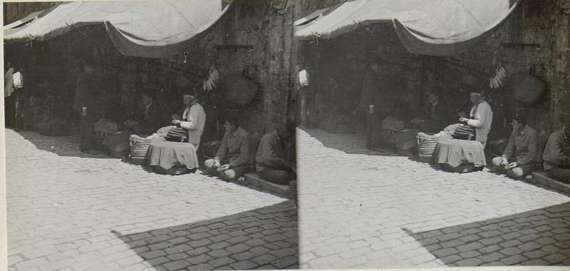 Bazar in Stambul.