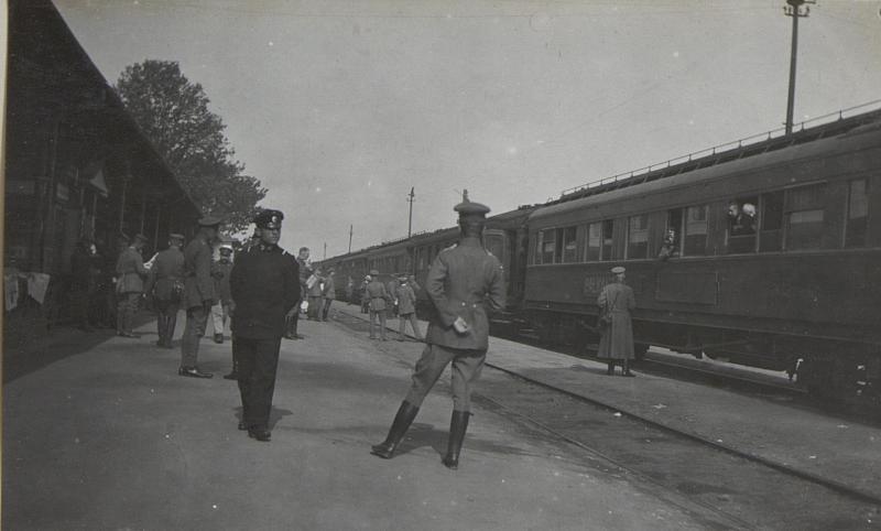 Bahnhof in Nisch.
