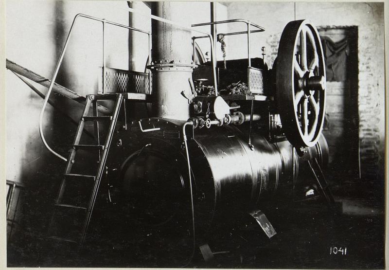 Ziegelfabrik im Abschnitt der 4. k.u.k. Armee
