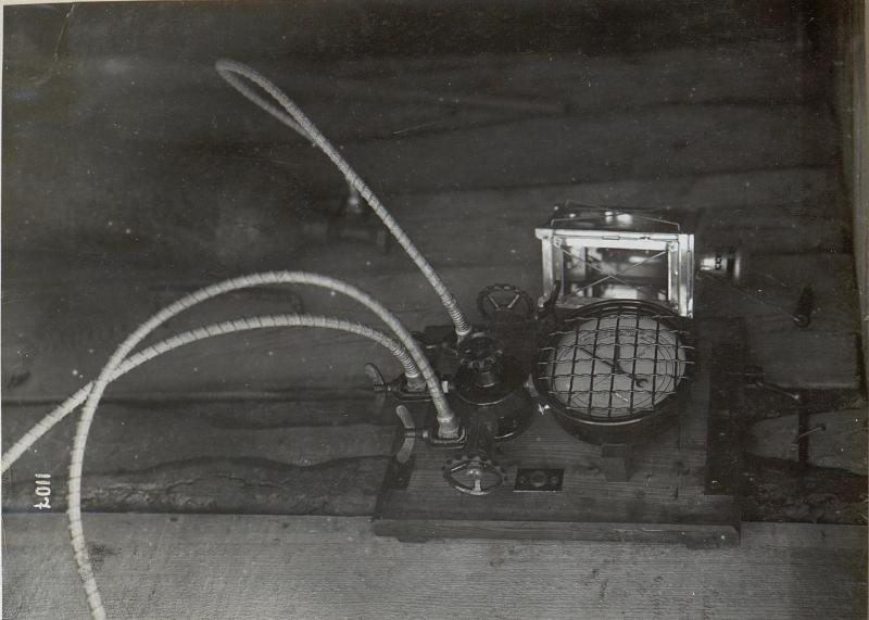 Fernsprecheinrichtungen im Abschnitt der 4. k.u.k. Armee