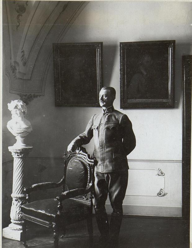 Chef des Generalst.bei d.A.K.Oberst Lunzer Luck.