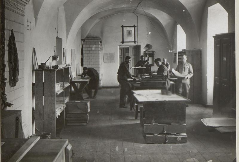 Druckerei der 4.K.V. Wl. Wolinsky.