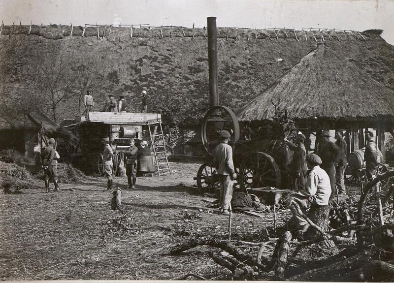 Erntearbeiten bei Zamliczy