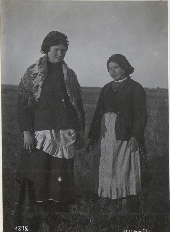 Wolhynischer Bäuerinnen in Wladimir Wolinsky